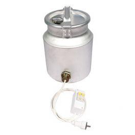 Фляга алюминиевая 18 л с термометром (ТЭН 2 кВт)