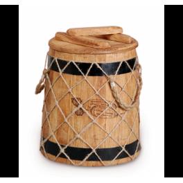 Кубельчик для засолки дубовый 6 л (кавказский дуб)