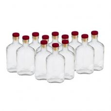 Купить Комплект стеклянных бутылок «Фляжка» 0,25 л (12 шт.) в Абакане