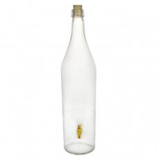 Купить Стеклянная бутылка «Русская четверть» 3 л с краном в Абакане