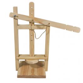 Пресс для приготовления сыра деревянный