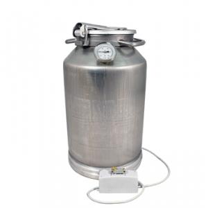 Фляга алюминиевая 25 л с термометром (ТЭН 2 кВт)