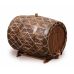 Бочка с краном под старину 50 л Премиум (кавказский дуб)