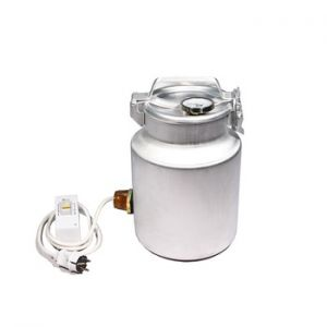 Фляга алюминиевая 10 л с термометром (ТЭН 1 кВт)