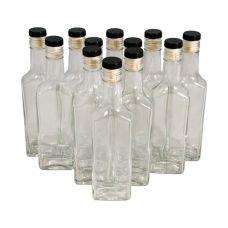 Комплект бутылок «Ива» с пробкой 0,25 л (12 шт.)